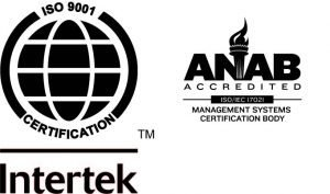 Anodize is ISO 9001 Certified